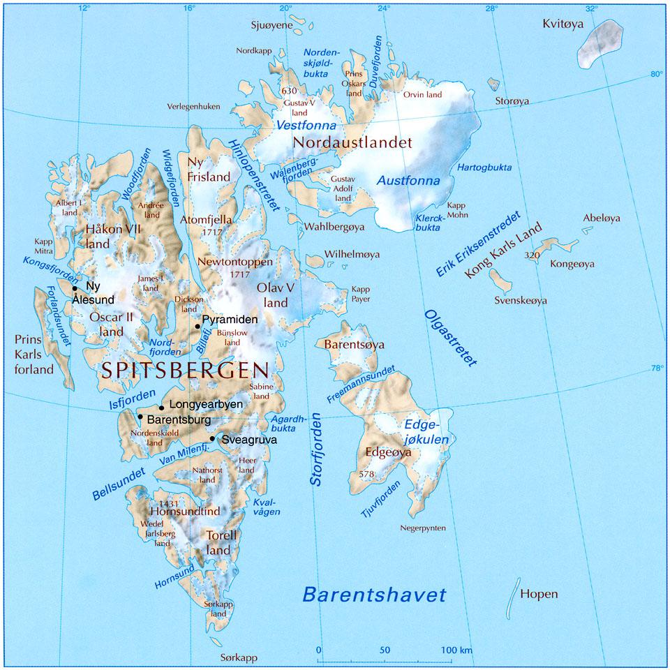 kart svalbard Svalbard kart svalbard